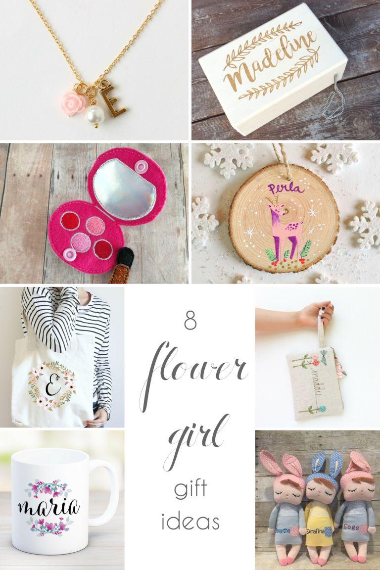 Flower Girl Gift Ideas as seen on Hill City Bride Virginia Wedding Blog
