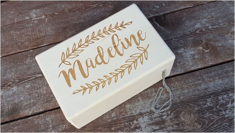 Flower Girl Gift Ideas as seen on Hill City Bride Virginia Wedding Blog - jewelry box, personalized