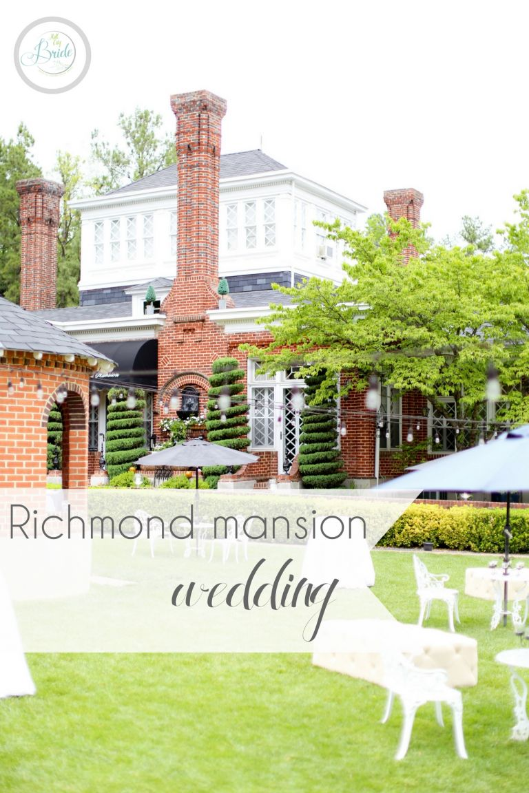 Richmond Mansion Wedding as seen on Hill City Bride Virginia Wedding Blog