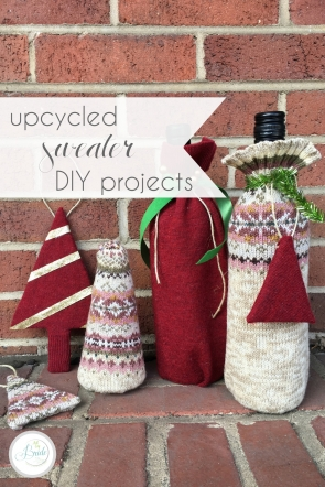 Upcycled Sweater DIY Projects as seen on Hill City Bride Virginia Wedding Blog