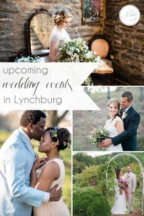 Upcoming Wedding Events in Lynchburg Virginia | Hill City Bride Blog