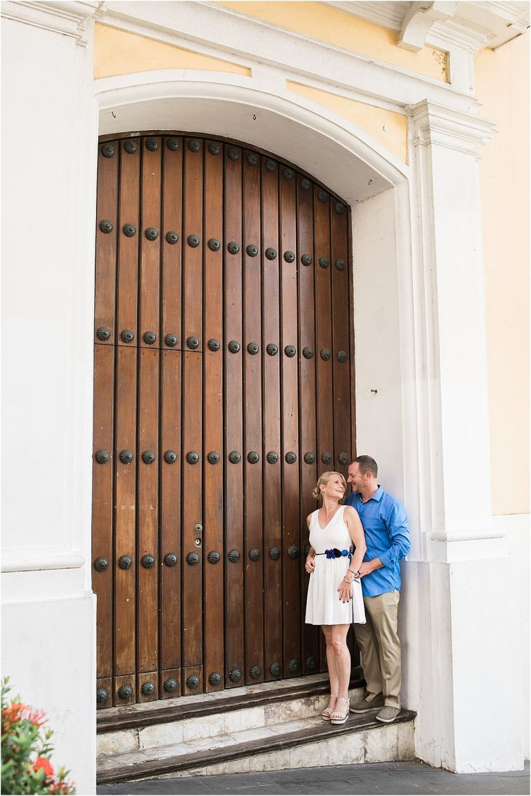 Surprise Anniversary Session in Old San Juan Puerto Rico | Hill City Bride Virginia Wedding Blog Travel by Gabriel Gonzalez Photography Destination