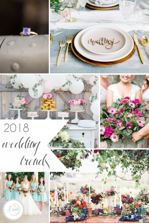 8 2018 Wedding Trends | Hill City Bride Virginia Blog