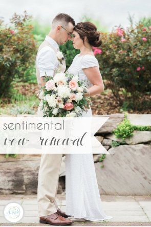 Sentimental Vow Renewal | Hill City Bride Virginia Wedding Blog by Robin Collins Photography