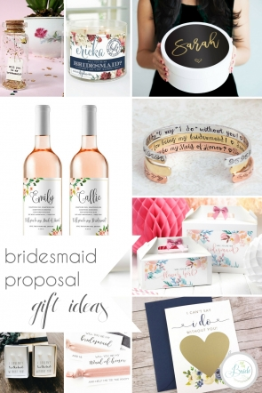 Bridesmaid Proposal Gift Ideas | Hill City Bride Virginia Wedding Blog