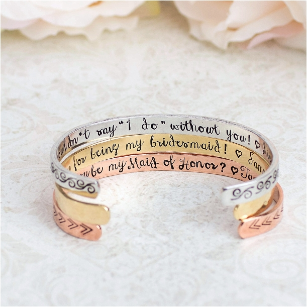 Bridesmaid Proposal Gift Ideas Hill City Bride Virginia Wedding Blog Bracelet