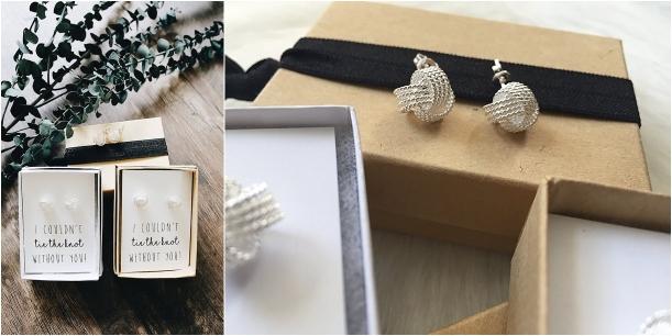 Bridesmaid Proposal Gift Ideas | Hill City Bride Virginia Wedding Blog - earrings