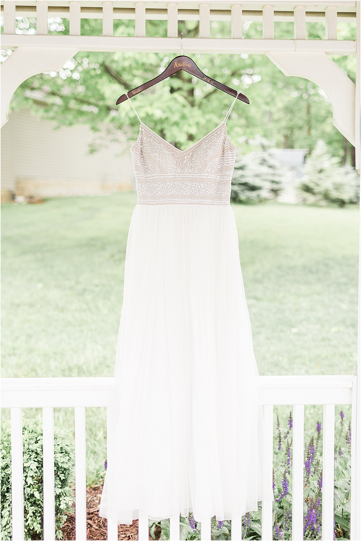 Spring Vineyard Wedding | Hill City Bride Virginia Wedding Blog - Jessica Green Photography - wedding gown
