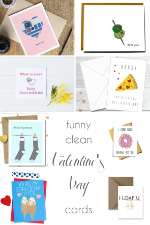 Funny Clean Valentine's Day Cards | Hill City Bride Virginia Wedding Blog