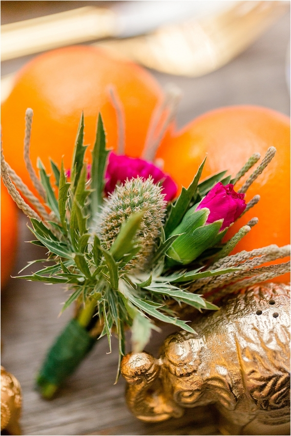 Middle Eastern Wedding | Hill City Bride Virginia Wedding Blog Travel Destination - boutonniere, bout, flowers