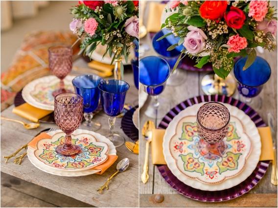 Middle Eastern Wedding | Hill City Bride Virginia Wedding Blog Travel Destination - table decor