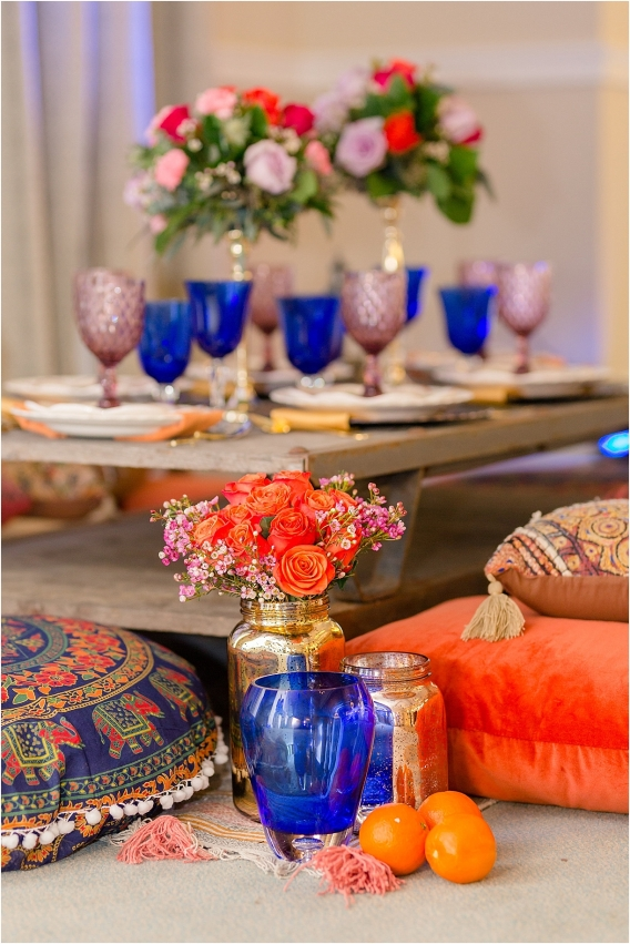 Middle Eastern Wedding | Hill City Bride Virginia Wedding Blog Travel Destination - cobalt, purple