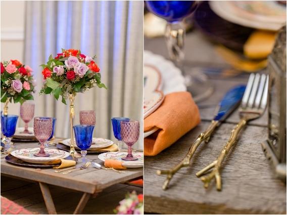 Middle Eastern Wedding | Hill City Bride Virginia Wedding Blog Travel Destination - table decor elements