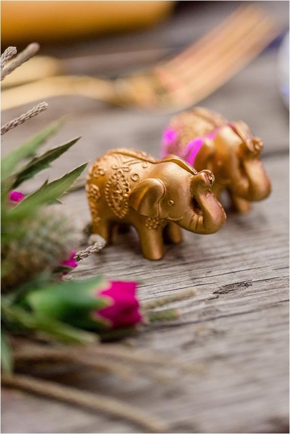 Middle Eastern Wedding | Hill City Bride Virginia Wedding Blog Travel Destination - gold elephant