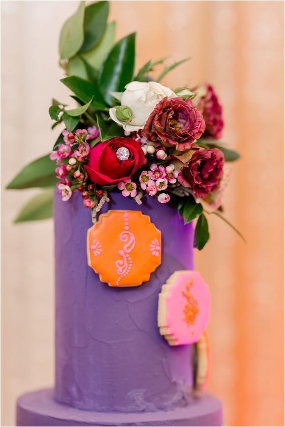 Middle Eastern Wedding | Hill City Bride Virginia Wedding Blog Travel Destination - purple cake