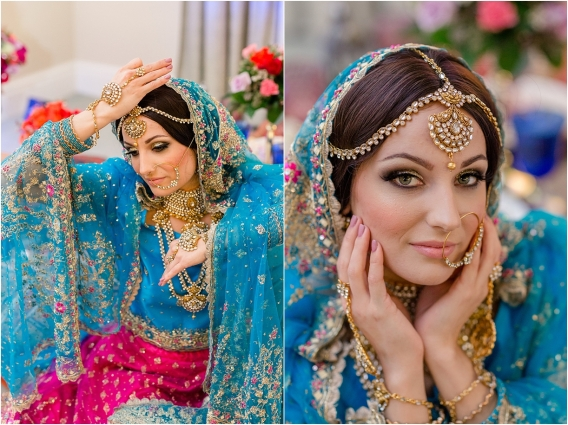 Middle Eastern Wedding | Hill City Bride Virginia Wedding Blog Travel Destination - makeup, sari, styling