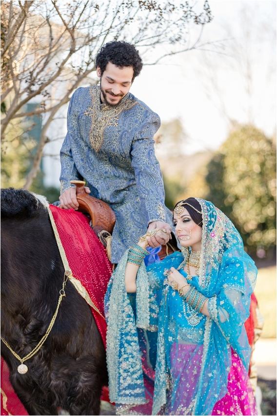 Middle Eastern Wedding | Hill City Bride Virginia Wedding Blog Travel Destination - bride, groom, horse