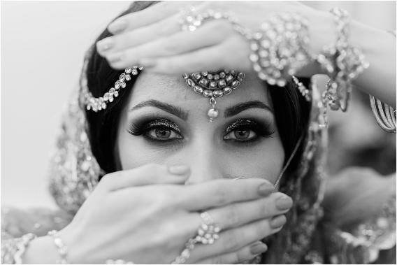 Middle Eastern Wedding | Hill City Bride Virginia Wedding Blog Travel Destination - makeup