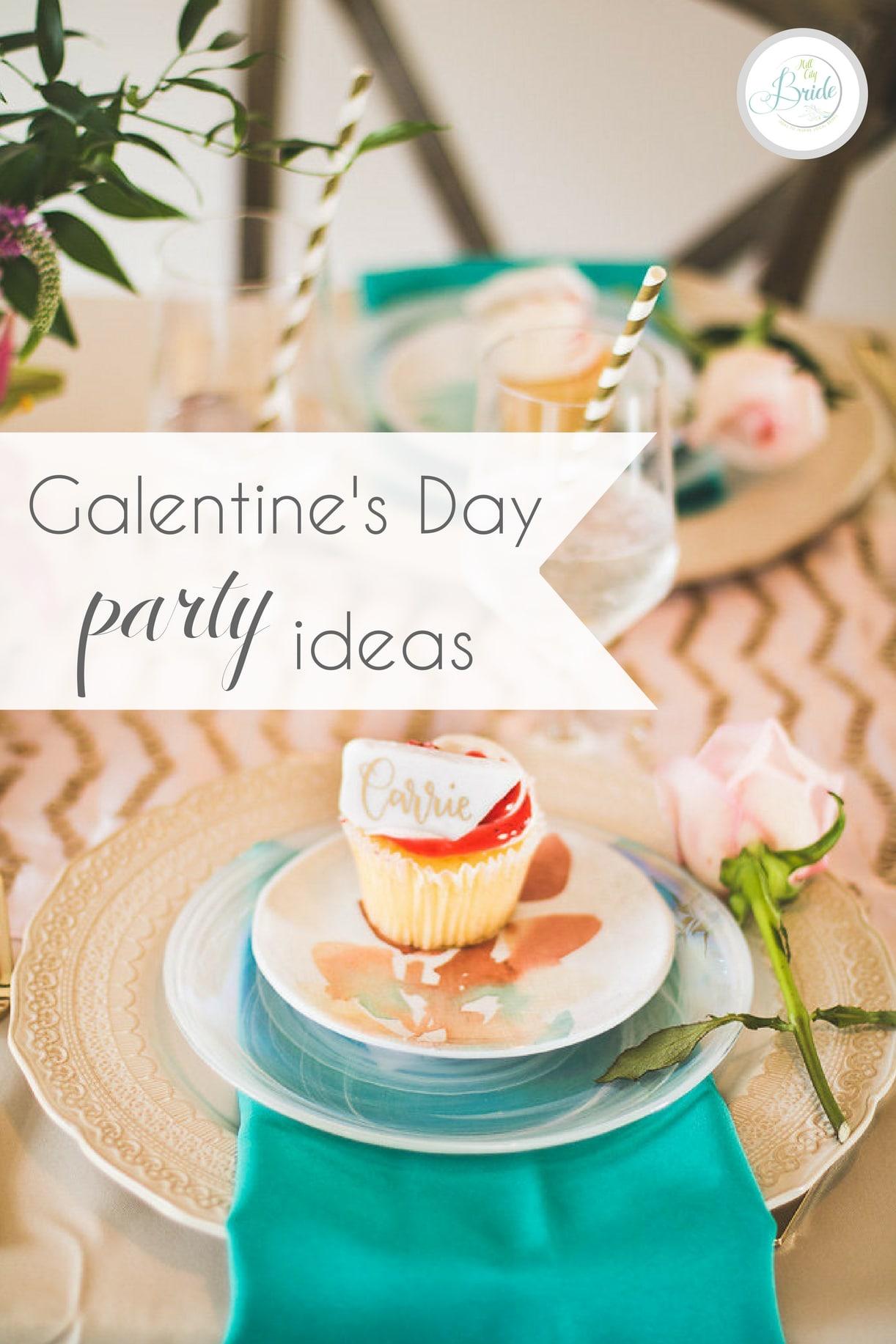 galentine s day party ideas hill city bride virginia. Black Bedroom Furniture Sets. Home Design Ideas