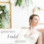 Greenery Bridal Session | Hill City Bride Virginia Wedding Blog