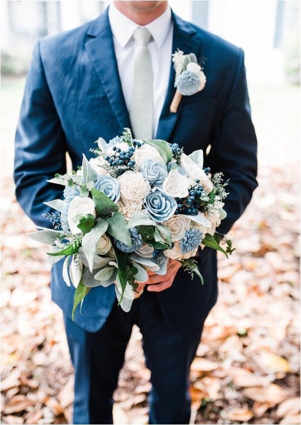 Navy Blue Wedding Ideas   Hill City Bride Virginia Wedding Blog