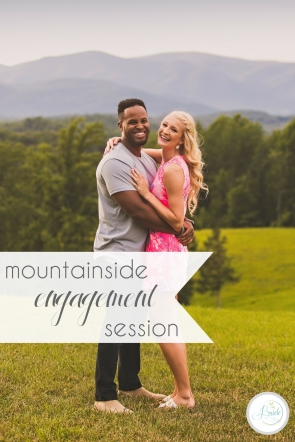 Mountainside Engagement Session | Hill City Bride Virginia Wedding Blog by Megan Vaughan Photography