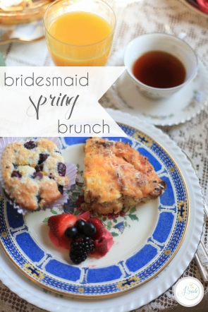 Bridesmaid Spring Brunch | Hill City Bride Virginia Wedding Blog