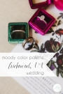 Moody Color Palette Richmond VA Wedding | Hill City Bride Virginia Blog