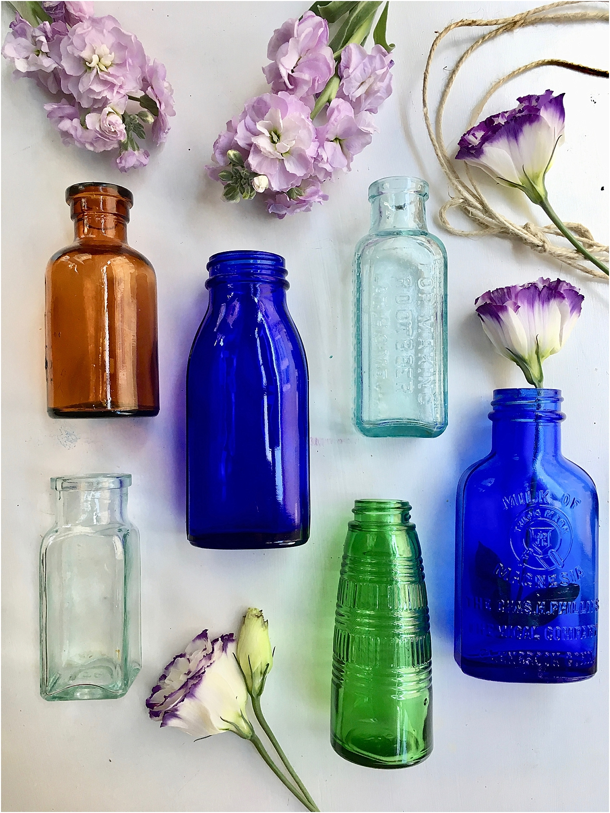 These Are Easy And Cute If You Have Access To Vintage Bottles