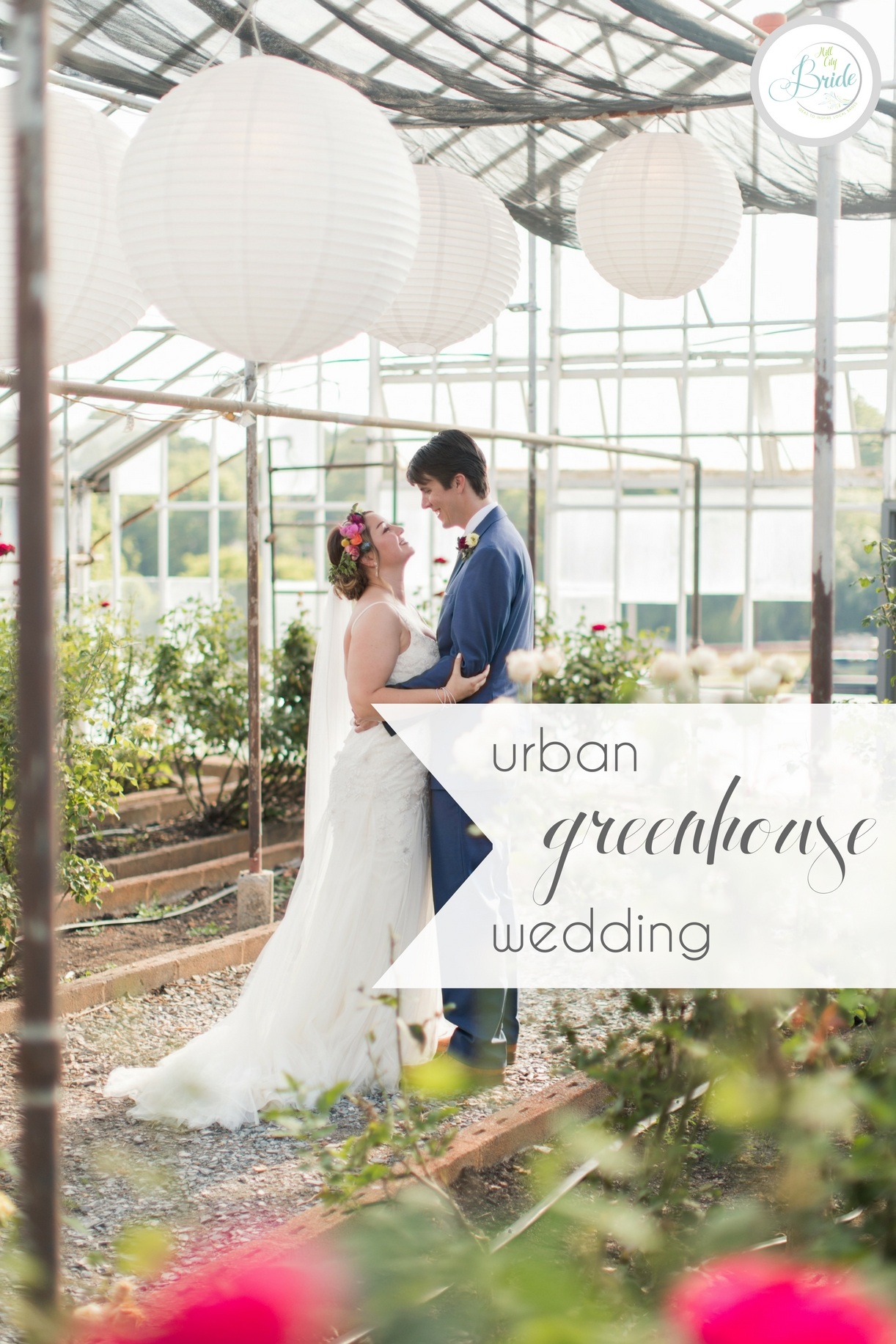 Urban Greenhouse Wedding DIY Farm | Hill City Bride Virginia Wedding Blog