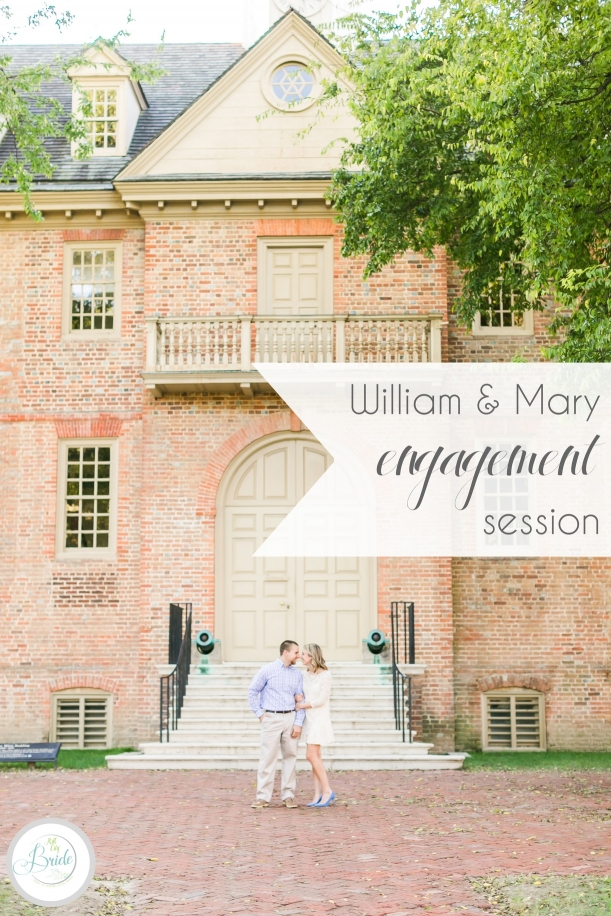 William and Mary Engagement Session | Hill City Bride Virginia Wedding Blog