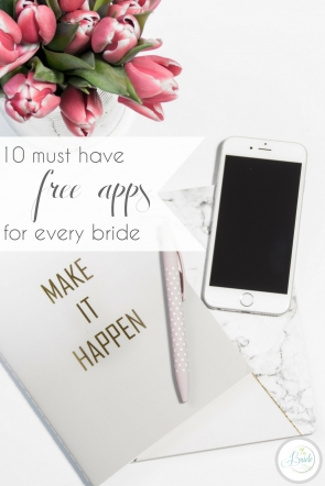 Free Wedding Apps for Every Bride | Hill City Bride Virginia Wedding Blog