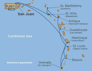 Windstar Cruises Gems of the Leeward Islands Route
