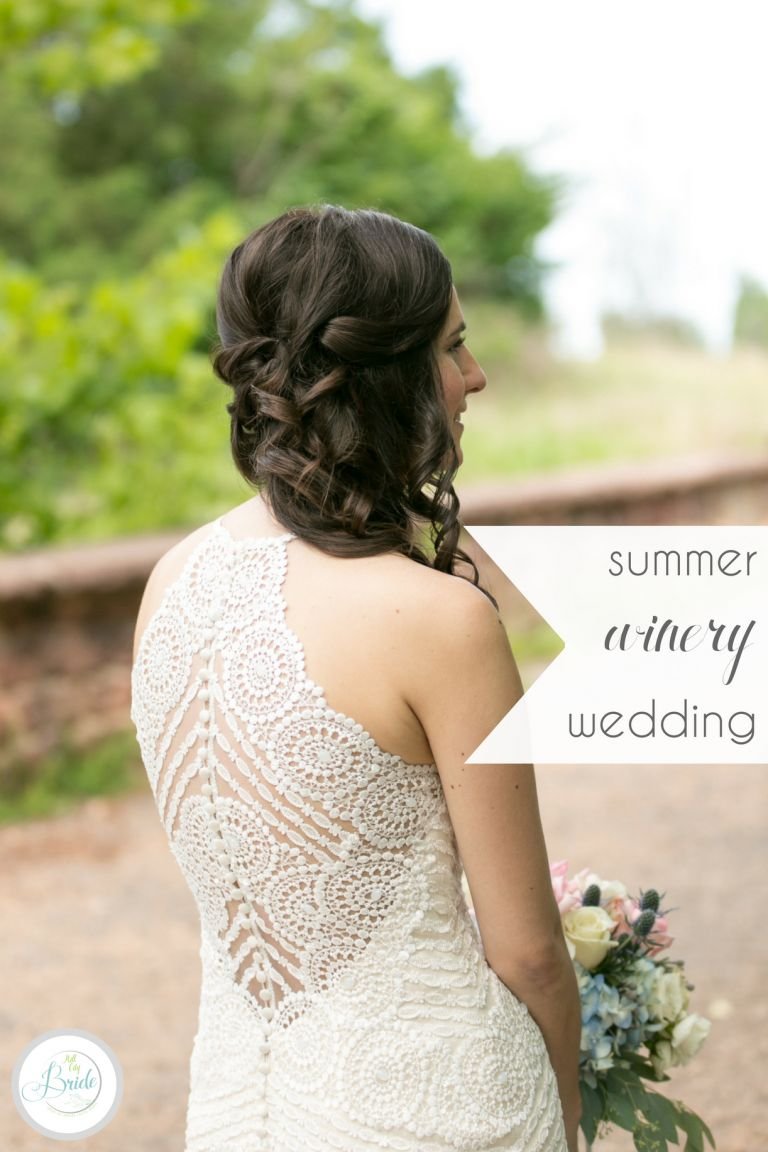 Virginia Summer Winery Wedding | Hill City Bride Wedding Blog