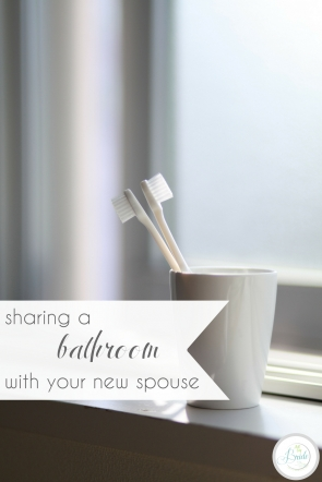 Sharing a Bathroom with Your New Spouse | Hill City Bride Virginia Wedding Blog