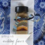 Grilling Rub Recipe Wedding Favor   Hill City Bride Wedding Blog   Father