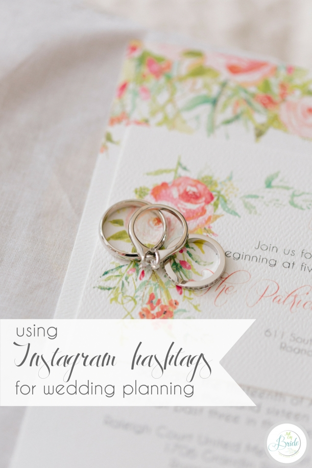 Using Instagram Hashtags for Wedding Planning | Hill City Bride Virginia Wedding Blog