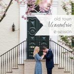 Old Town Alexandria Engagement Session | Hill City Bride Virginia Wedding Blog