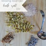 Lavender Bath Salt DIY Salts | Hill City Bride Virginia Wedding Blog