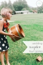 Wedding Reception Lawn Games | Hill City Bride Virginia Wedding Blog
