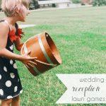 Wedding Reception Lawn Games   Hill City Bride Virginia Wedding Blog