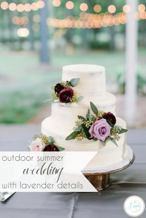 Outdoor Summer Wedding with Lavender Details | Hill City Bride Virginia Wedding Blog