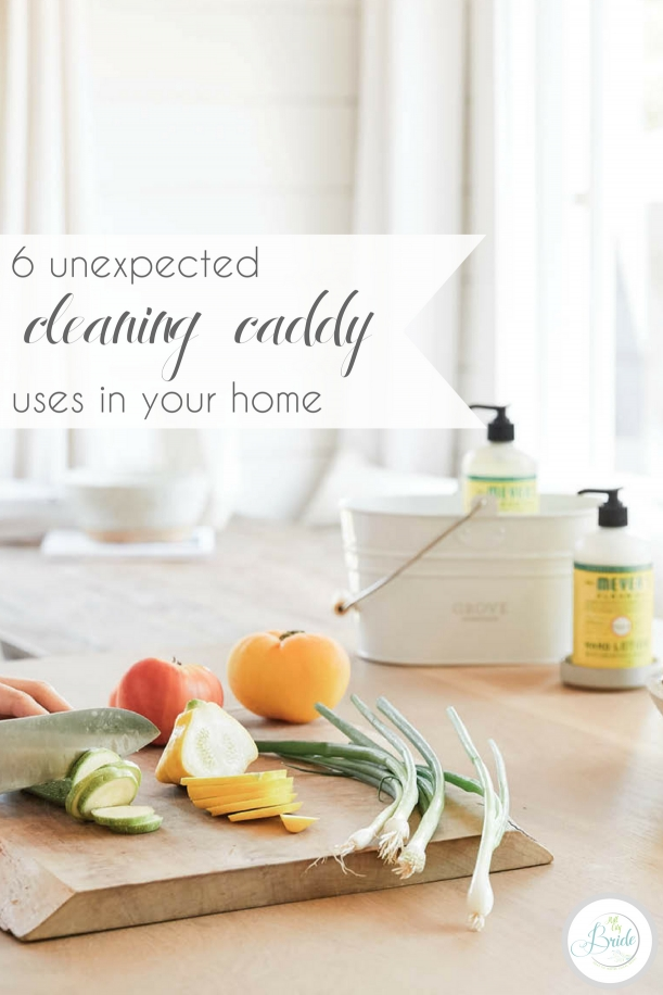 5 Cleaning Caddy Uses | Hill City Bride Virginia Wedding Blog
