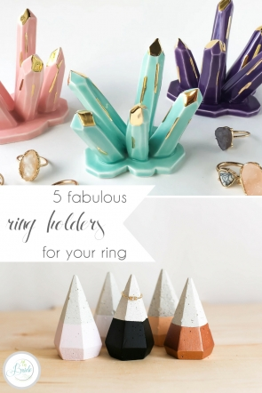 Ring Holders for Your Engagement Ring | Hill City Bride Virginia Wedding Blog