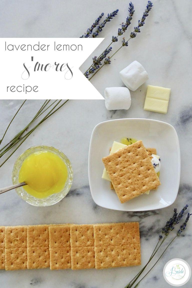 Lavender Lemon S'mores Recipe | Hill City Bride Wedding Blog
