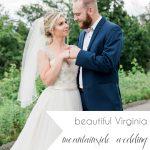 Virginia Mountainside Wedding | Hill City Bride Virginia Wedding Blog