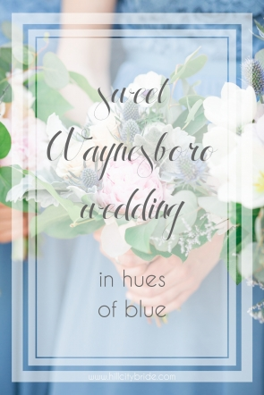 Waynesboro Wedding Blue | Hill City Bride Virginia Wedding Blog