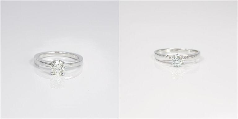 Natural Earth Mined Diamond Engagement Rings | Hill City Bride Virginia Wedding Blog
