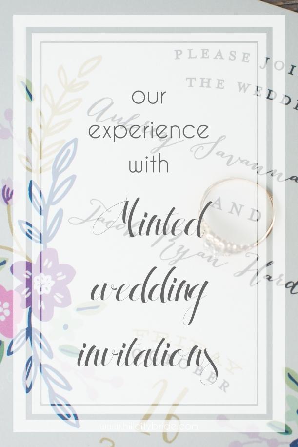 Minted Wedding Invitations | Hill City Bride Wedding Blog