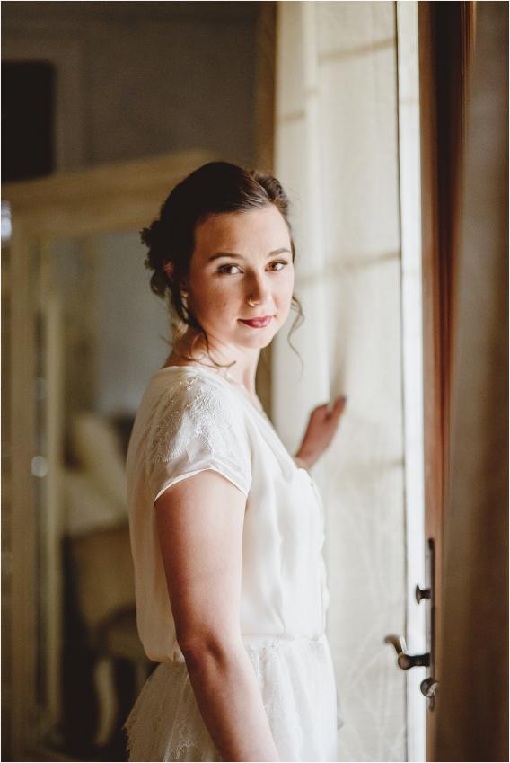 Vintage Heirloom DIY Wedding at the Aviary in Lynchburg Virginia Purple Lavender | Hill City Bride Wedding Blog Bridal Portrait